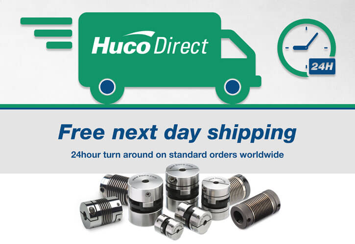 Free Huco Direct Next Day Shipping