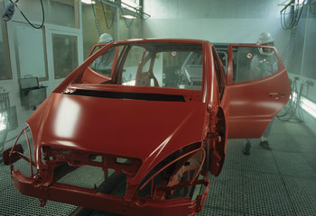 Automotive Paint Shop