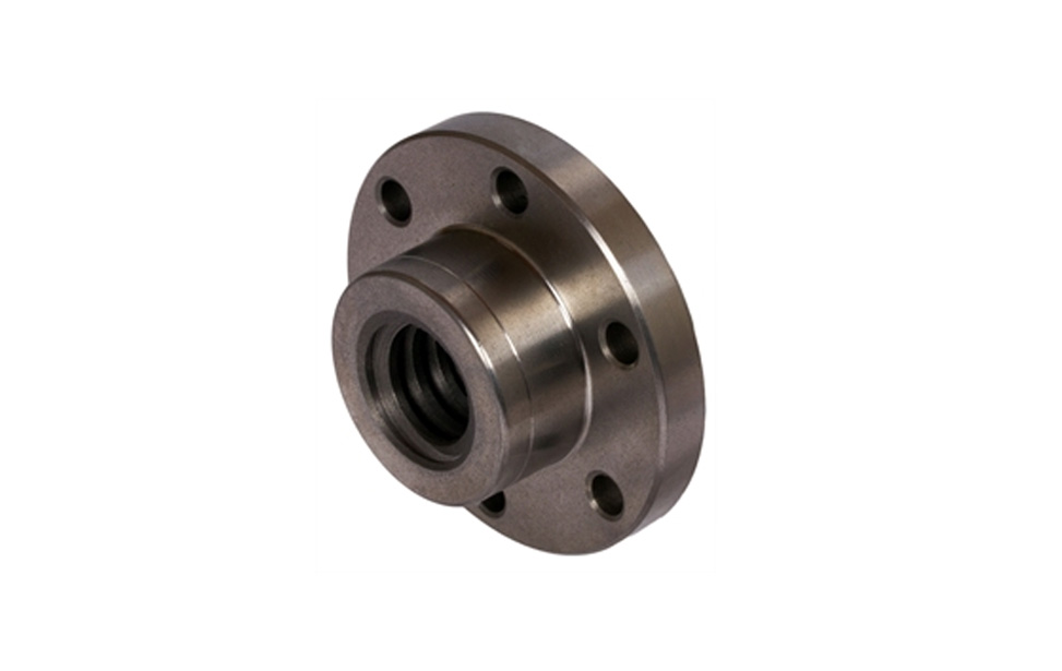 Nuts - Flanged and Drilled