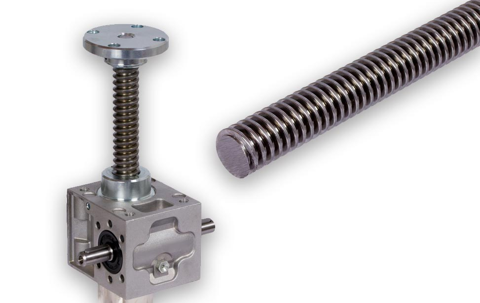 Trapezoidal Leadscrews & Nuts